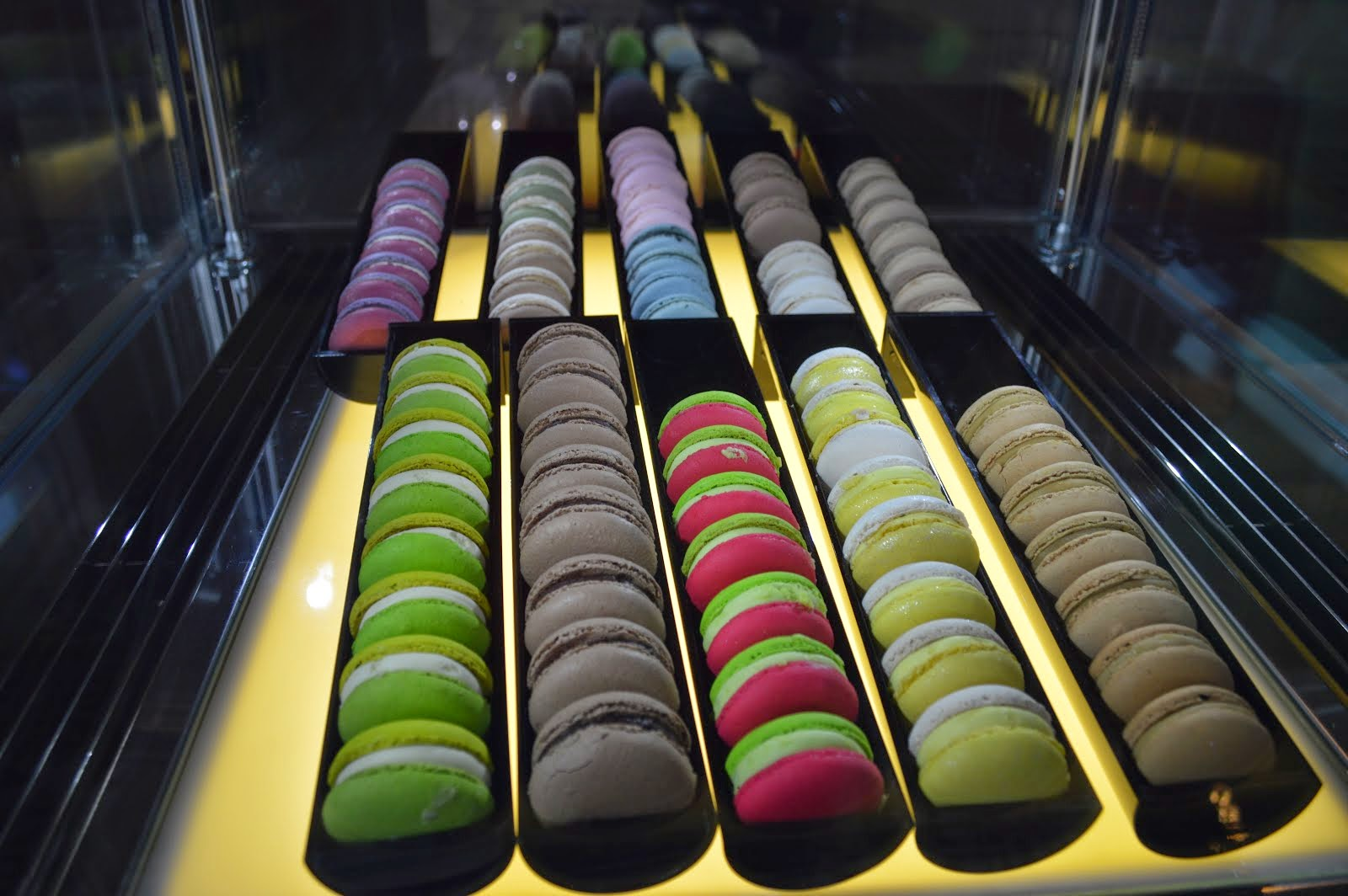 Macarons at the Oriental Hotel