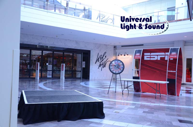 Universal Light And Sound Recent Events Espn Live And Verizon At Roosevelt Field Mall And
