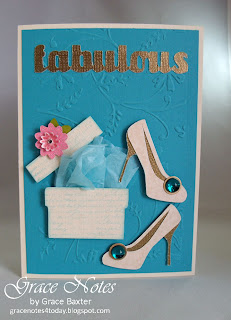 FABULOUS at 50 birthday card front