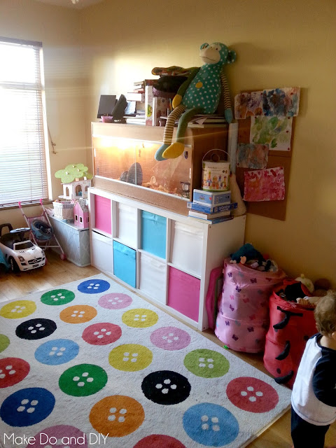 playroom makeover on a tight budget