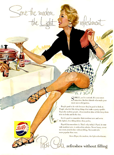 Pepsi Cola vintage ads