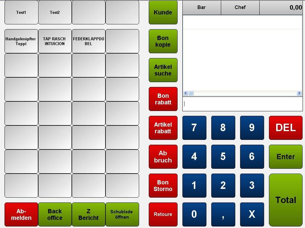 Modulares Kassensystem 2