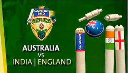 Tri Series India, England in Australia 2015