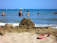Rosolina Mare na pláži