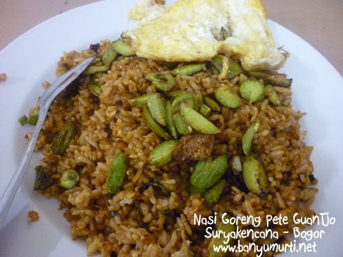 Kuliner Bogor - Nasi Goreng Pete Guan Tjo