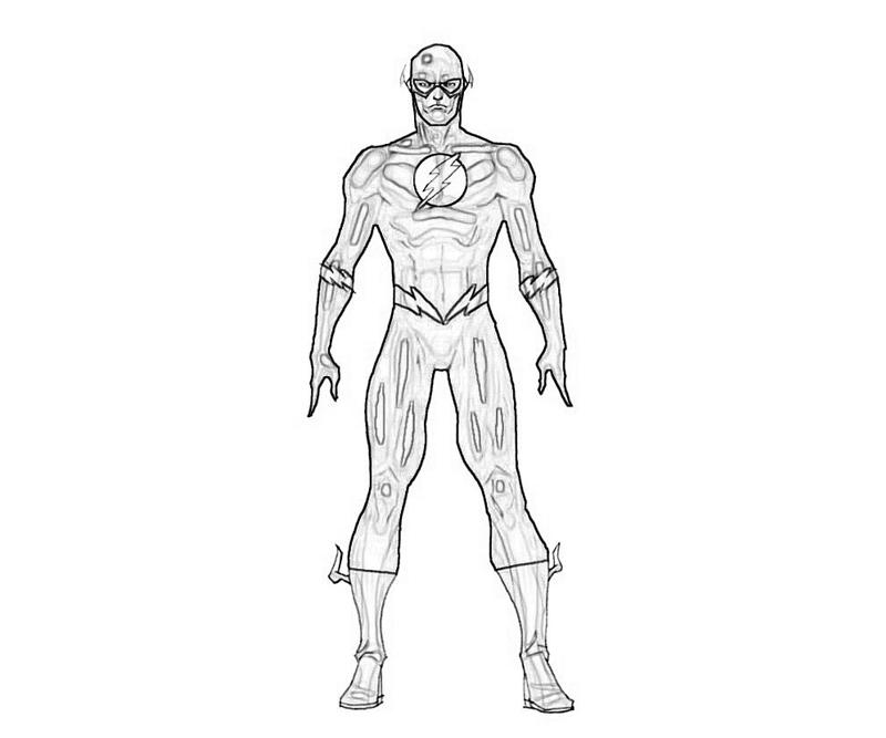 Another Flash Coloring Pages