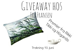 Give Away hos Fru Fransen
