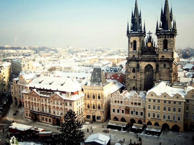 3. Prague, The Czech Republic - Top 10 Most Wintery Cities