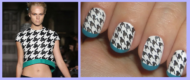 manning cartell 2012 inspired nail art