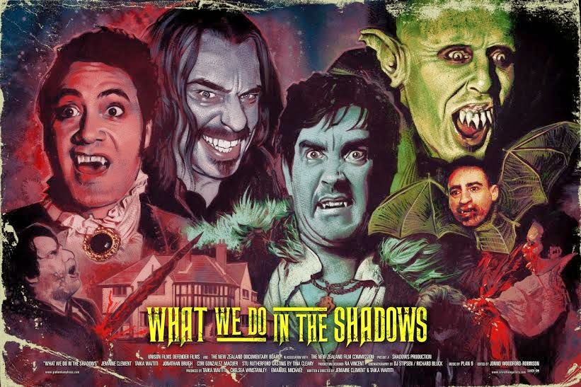 What We Do In The Shadows Screen Print by Graham Humphreys