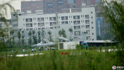 J-20 Stealth Fighter Plane
