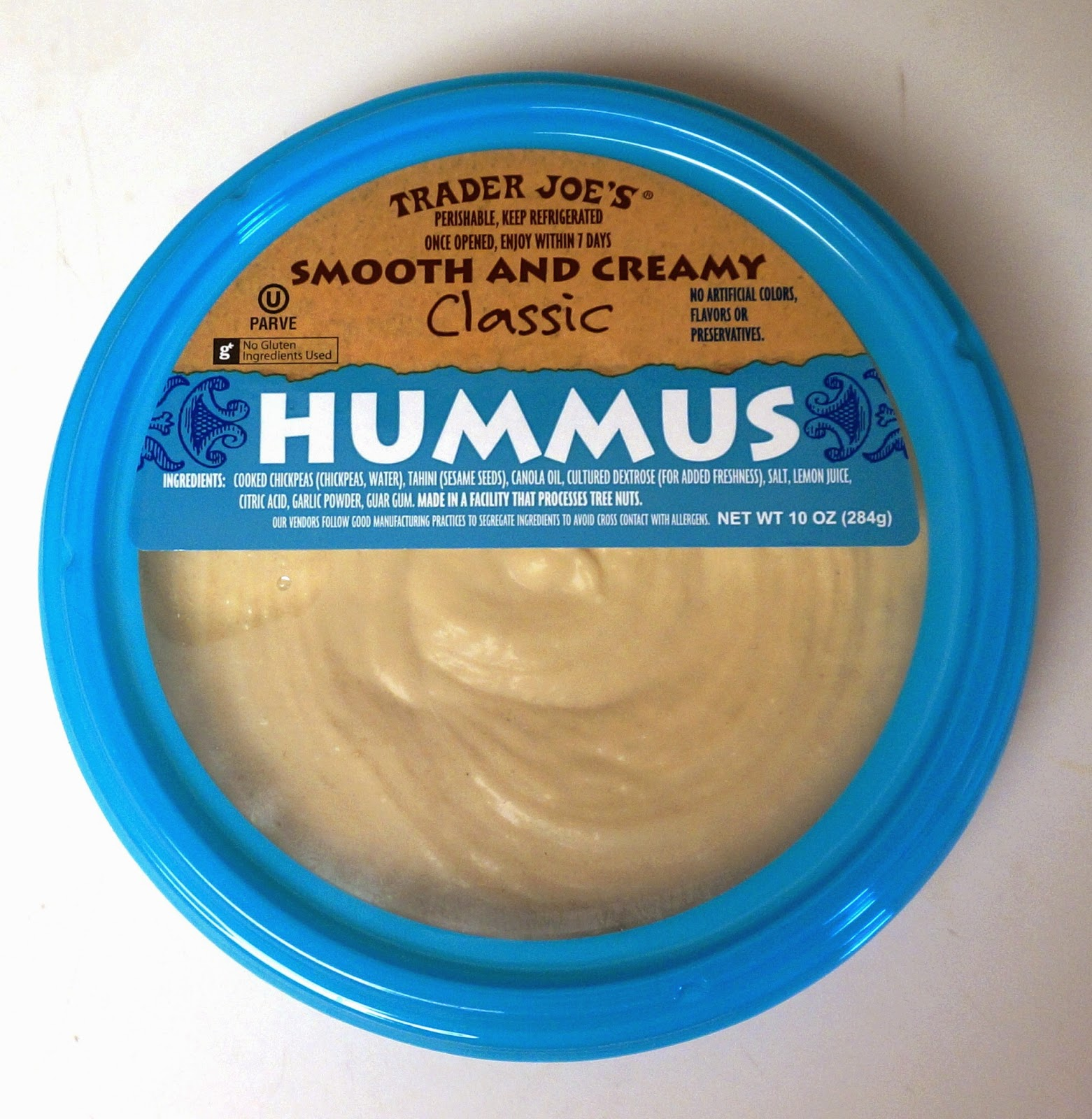 Exploring Trader Joe\'s: Trader Joe\'s Smooth And Creamy Classic Hummus