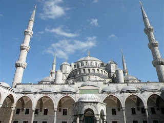 Istanbul Blue Mosque. Photograph by Janie Robinson, Travel Writer