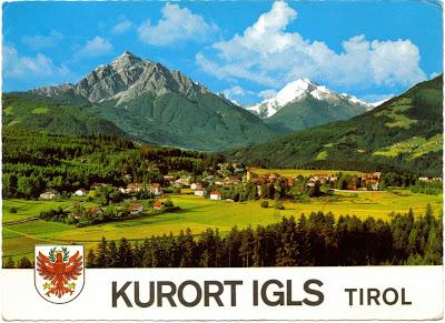 Kurort Igls, Tirol, Austria