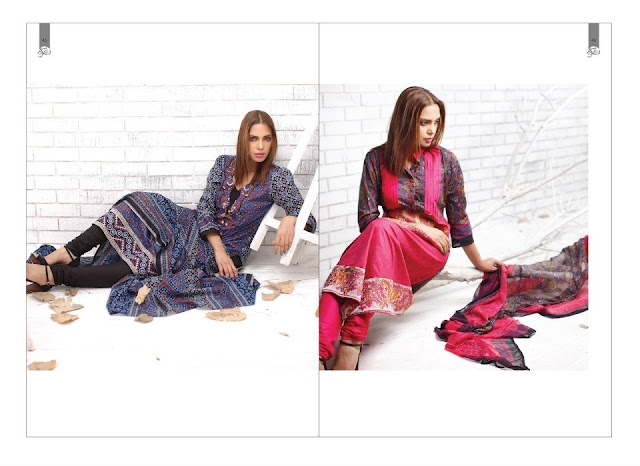 PrintedEmbroideredLawnwwwShe9blogspotcom252822529 - Rabea Designer Lawn Collection | Embroidered Lawn Collection of 2