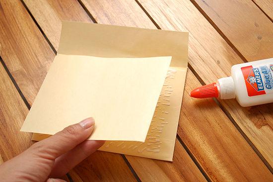 como hacer un sobre