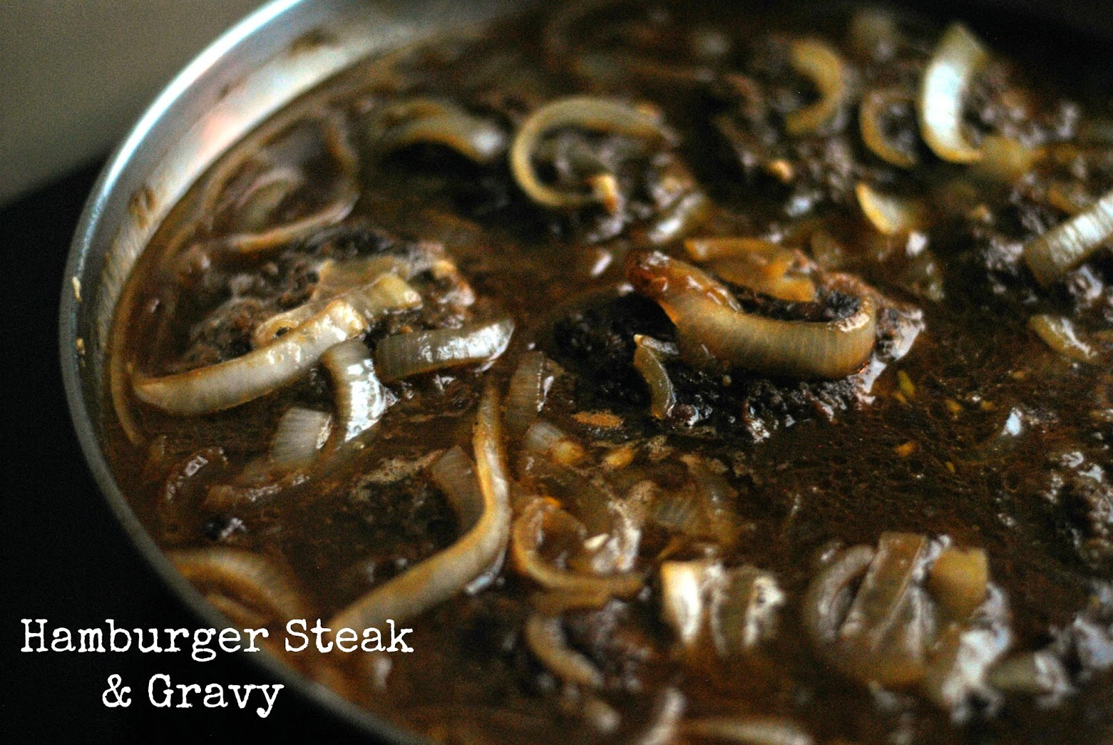 Hamburger Steak & Gravy