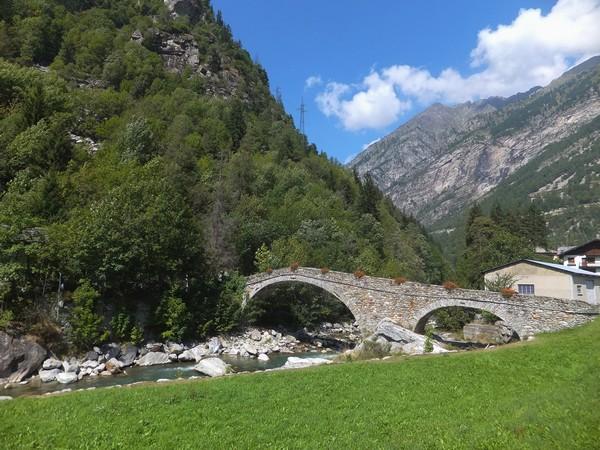 Italie Italy Aoste Aosta vallée lys walser gaby