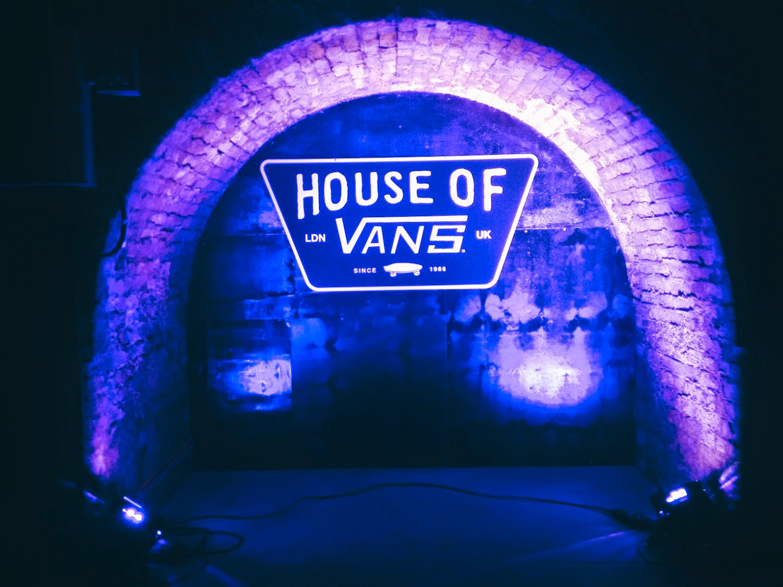 house of vans london opening friends and family waterloo station