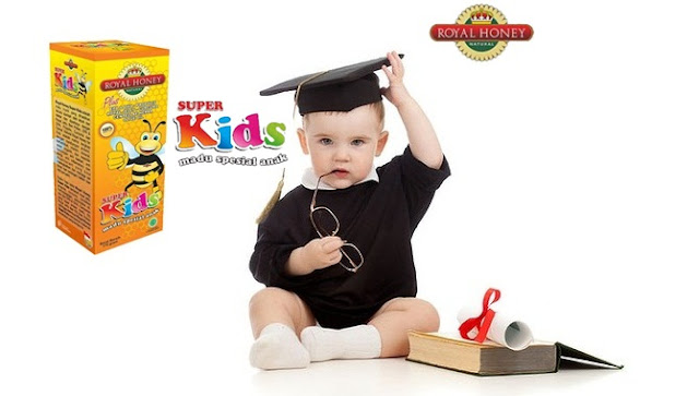 Natural Honey Super Kids..!! Madu Khusus Untuk Anak
