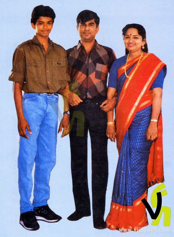 vijay family photos images. Actor vijay photos, Childhood vijay images, Young age photos for actor vijay