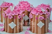 Oriental Pink Mini Cake