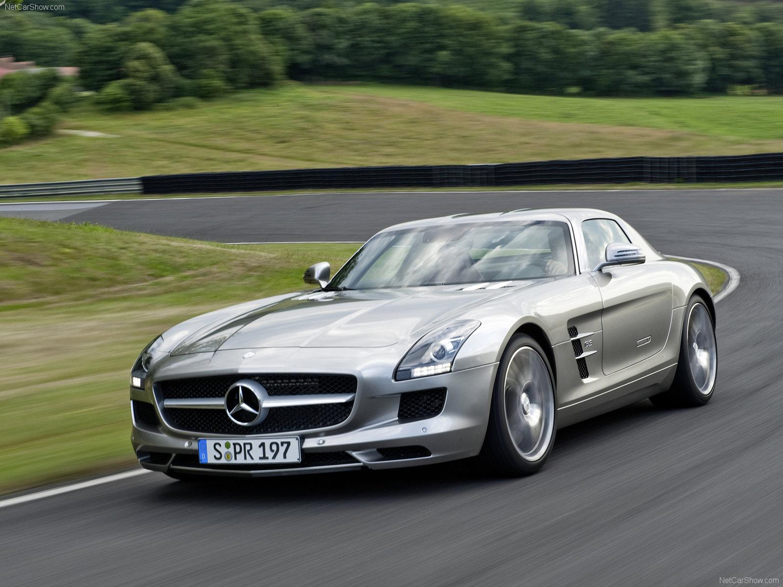 Mercedes-Benz SLS AMG Gullwing 2011 | Fotos e Imágenes en ... Mercedes Sls Amg Black Series Wallpaper