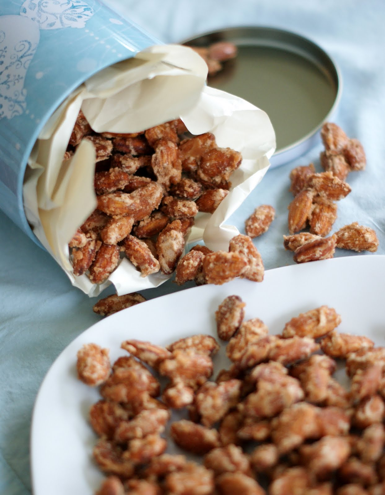 Alice and the Mock Turtle: Vanilla and Cinnamon Candied Nuts