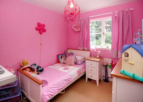 Interior Decoration: Cute Pink Bedroom Design For Teenager ...