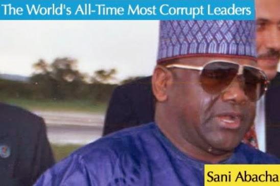 sani abacha loot seized