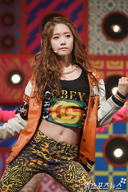 YOONA SNSD 2013 COMEBACK STAGE MNET PHOTO