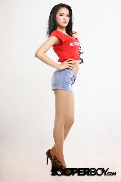 Diana Putri for Sooperboy Decembre 2013 | MagzSpider