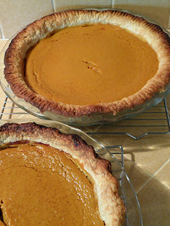 Pies with burned crusts