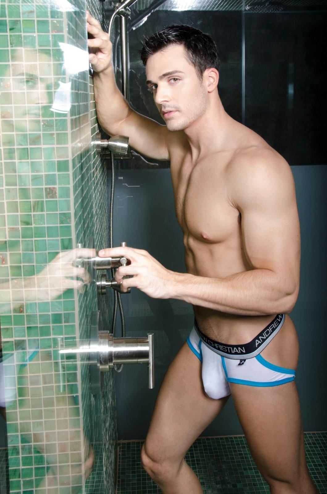 Andrew christian underwear models male