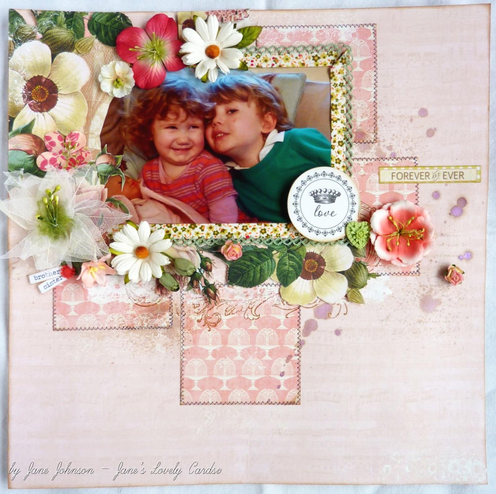Janes Lovely Cards Love Forever Ever