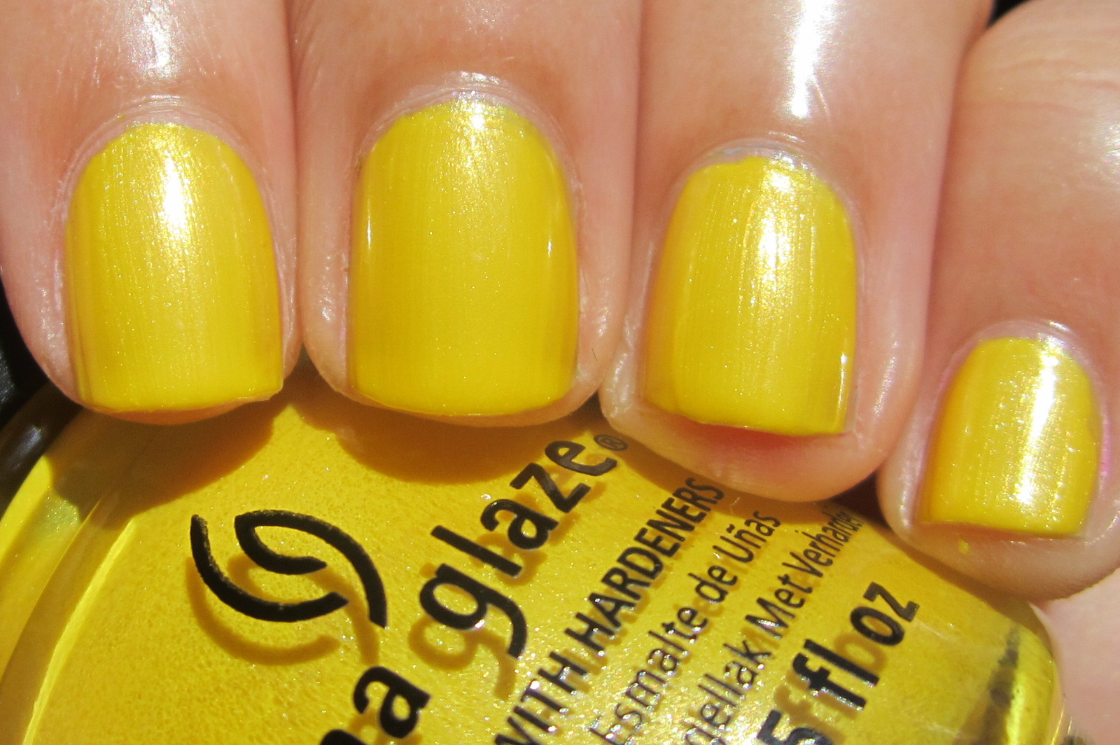 GiMiKd Girl: China Glaze: Sunshine Pop