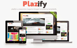 Plazify Blogger Template
