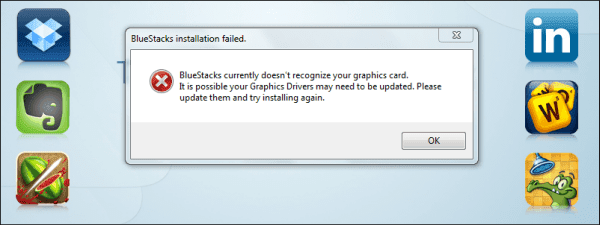5948616dd32a8 مشكلة Bluestacks currently doesn t recognize your graphic card