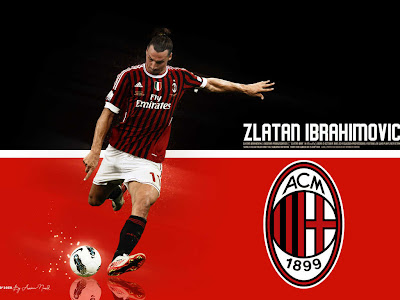 Zlatan Ibrahimovic HD Wallpapers - A.C Milan Wallpapers