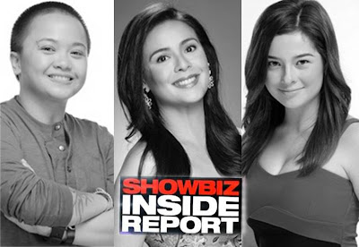 Aiza Seguerra, Dawn Zulueta and Andi Eigenmann on Showbiz Inside Report this july 7
