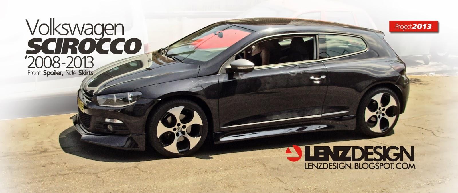 VW Scirocco Tuning - Body Kit Lenzdesign Performance
