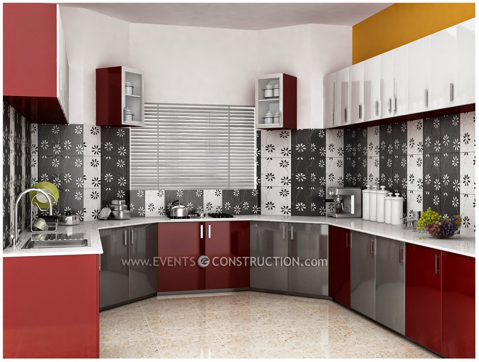 Evens Construction Pvt Ltd Beautiful Kitchen Interior