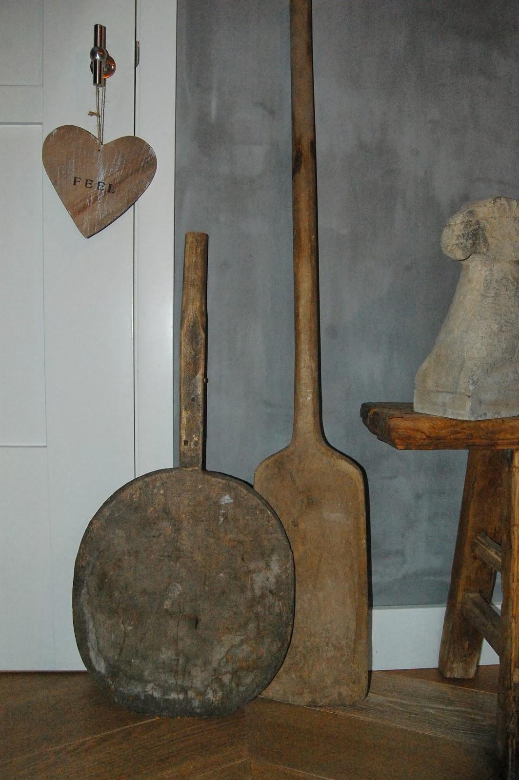Oude Keuken Ophalen : oude houten ovenschep mooi stoer in de keuken
