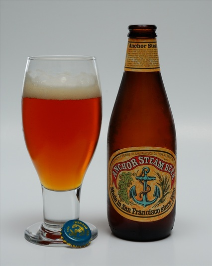 Veni Vidi Bibi (I came, I saw, I drank): Anchor Steam Beer