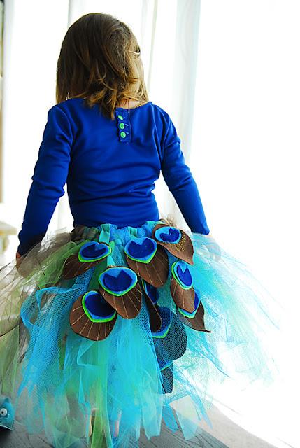 peacock costume sewing tutorial