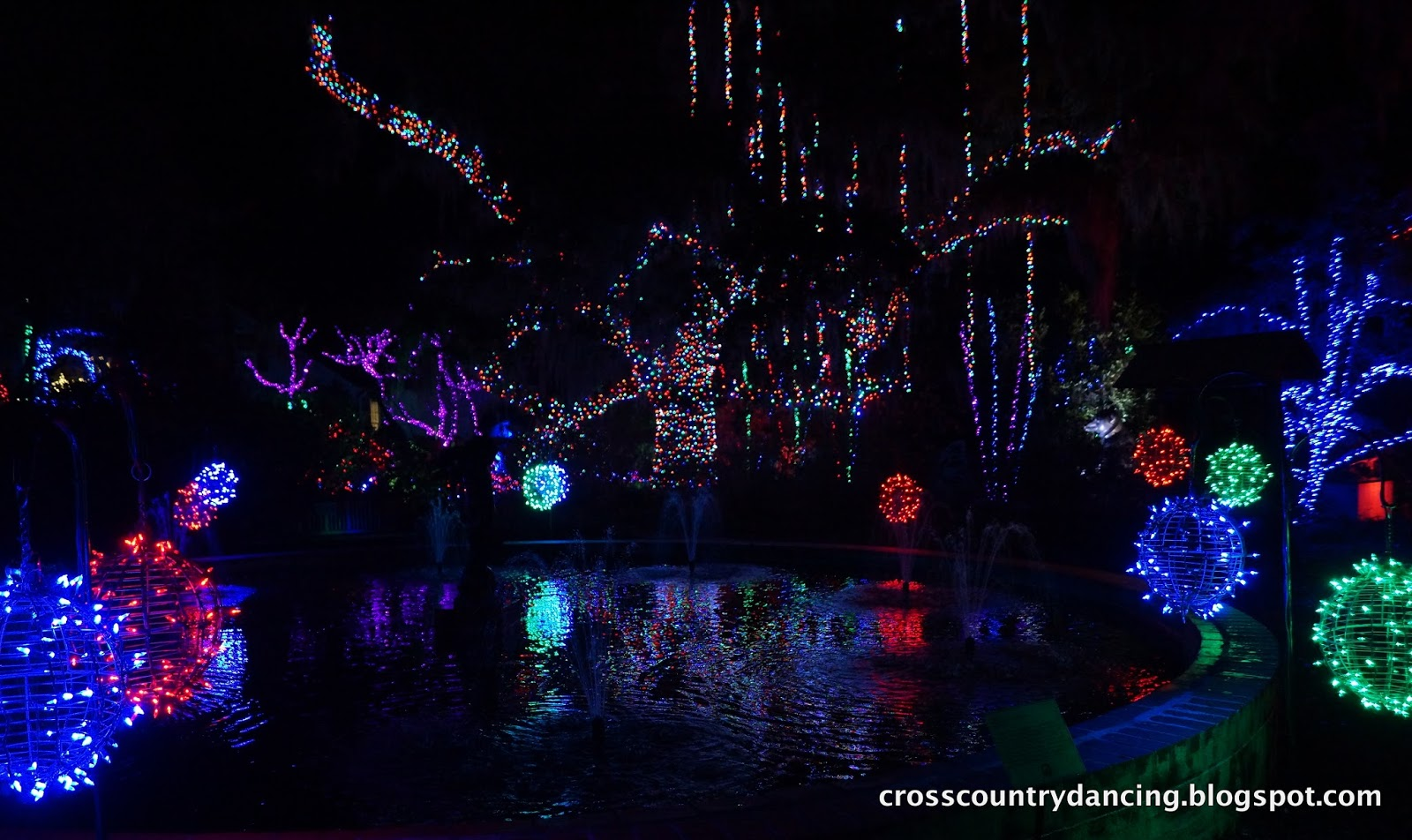 Dancing 39 Cross The Country Nights Of A Thousand Candles At Brookgreen Gardens Sc