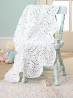 детские одеяла крючком