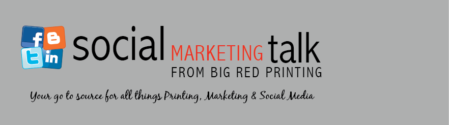 Social Marketing Talk from Big Red Printing