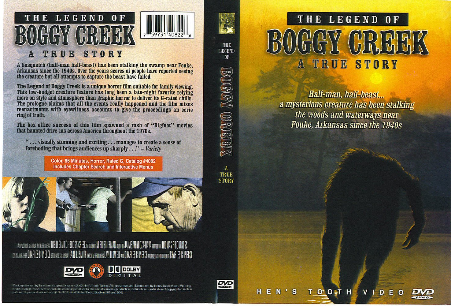 50 States of Food and Film Challenge: Arkansas by WalkAway The Legend Is True Boggy Creek