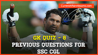 GK Capsule for SSC CGL 2015